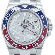 Rolex GMT-Master II 126719BLRO Unworn White gold 40mm Automatic