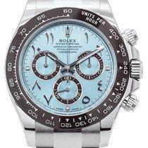 Rolex Daytona Platinum 40mm Blue Arabic numerals