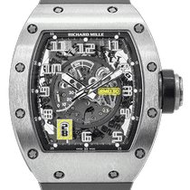 Richard Mille RM 030 Titanium 50mm Transparent Arabic numerals