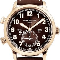 Patek Philippe Travel Time 5524R-001 Unworn Rose gold 42mm Automatic