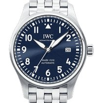 IWC Pilot Mark Acero 40mm Azul