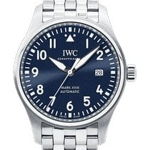 IWC Pilot Mark Сталь 40mm Синий