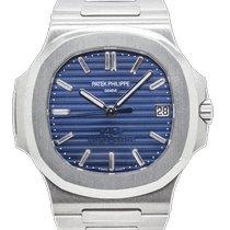 Patek Philippe Nautilus Platinum 40mm Blue