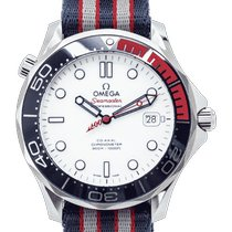 Omega Seamaster Diver 300 M Stahl 41mm Weiß