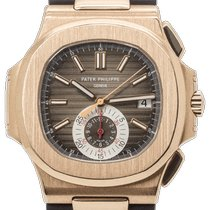 Patek Philippe Nautilus 5980R-001 Very good Rose gold 41mm Automatic