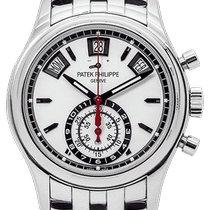 Patek Philippe Annual Calendar Chronograph Steel 40.5mm White