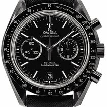 Omega Speedmaster Professional Moonwatch Керамика 44mm Чёрный