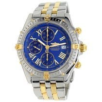 Breitling Crosswind Racing Gold/Steel 43mm Blue Roman numerals United States of America, New York, Greenvale