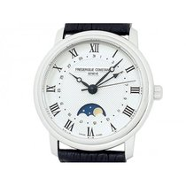 Frederique Constant pre-owned Automatic 40mm Silver