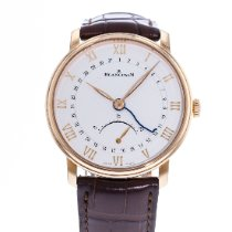 Blancpain Villeret Ultra-Slim Rose gold 40mm Silver United States of America, Georgia, Atlanta