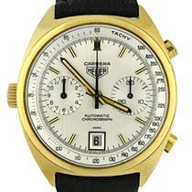 Heuer Yellow gold 38mm Automatic 1158 pre-owned United States of America, Georgia, Atlanta