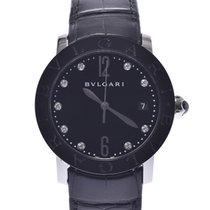 Bulgari Ceramic Automatic Black 37mm pre-owned Bulgari