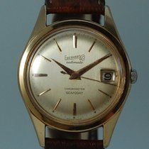 Eberhard & Co. Yellow gold Automatic Gold 35mm pre-owned Scafo