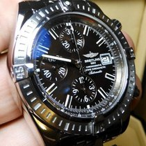 Breitling Chronomat Evolution Steel 44mm Brown