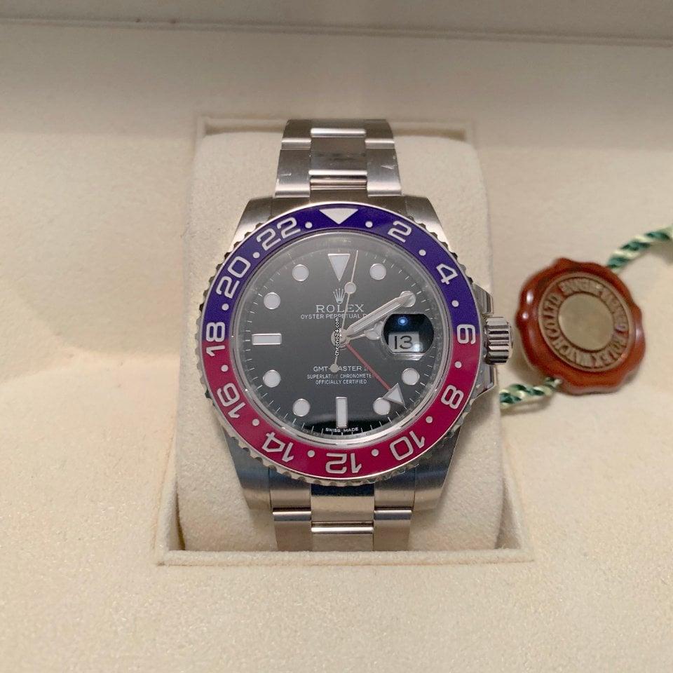 Rolex GMT-Master II 116719BLRO 2014 nuevo