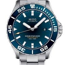 Mido Ocean Star Steel 43.5mm Blue