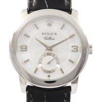 Rolex Automatic White 35mm pre-owned Cellini