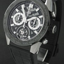 TAG Heuer Carrera Heuer-02T neu 2020 Automatik Chronograph Uhr mit Original-Box und Original-Papieren CAR5A8Y.FC6377