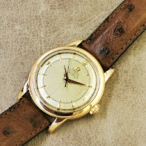 Omega Or rose Remontage automatique Champagne Arabes 35mm occasion Seamaster