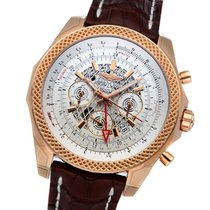 Breitling Bentley B04 GMT Rose gold 49mm Silver No numerals United States of America, New York, Greenvale