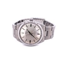 Rolex Air King Precision Steel 34mm Silver No numerals United States of America, Florida, Clearwater