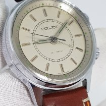 Poljot Poljot Alarm Manual 18 jewels Oversize 37mm Cal 2612.1 Veldig bra Stål 37mm Manuelt