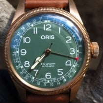 Oris Big Crown Pointer Date Bronze 40mm Green Arabic numerals Australia, Sydney