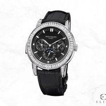 Patek Philippe Minute Repeater Perpetual Calendar Platinum 42mm Black No numerals