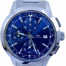 IWC Ingenieur Chronograph Steel 42.3mm Blue No numerals United States of America, Florida, Naples