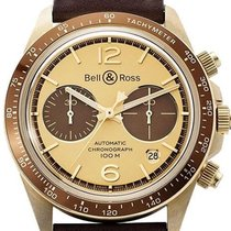 Bell & Ross Bronze Automatic Champagne No numerals 41mm new BR V2