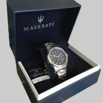 Maserati Steel 44mm Quartz R8873621002 new