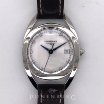 Longines Equestrian Steel 26mm Mother of pearl No numerals