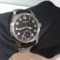 Montblanc new Manual winding Small seconds Limited Edition 44mm Steel Sapphire crystal