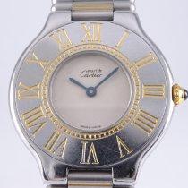 Cartier 21 Must de Cartier Stahl 28mm Silber Römisch Deutschland, Braunschweig