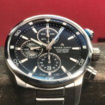 Maurice Lacroix Pontos S pre-owned 43mm Black Chronograph