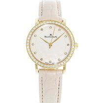 Blancpain Villeret Ultra-Slim pre-owned 29mm Mother of pearl Leather