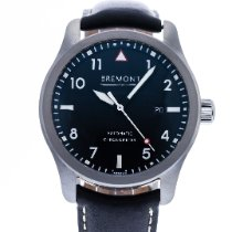Bremont Steel Automatic Black 43mm pre-owned Solo