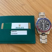 Rolex GMT-Master II White gold 40mm Black No numerals United Kingdom, Hillsborough