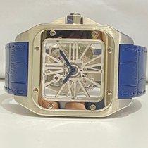 Cartier Палладий Механические Прозрачный подержанные Santos 100