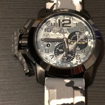 格林漢 Chronofighter Oversize 2CCAU.S01A.T12N 好 鋼 自動發條 香港, Hong Kong