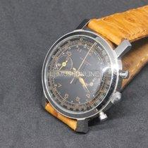 Chronographe Suisse Cie Steel 37mm Manual winding pre-owned