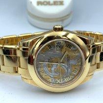 Rolex 81208 Oro amarillo 2009 Pearlmaster 34mm usados