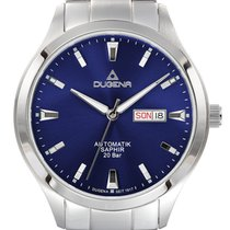 Dugena Steel Automatic Blue 42mm new
