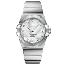 Omega Constellation Men 123.10.38.21.52.001 New Steel 38mm Automatic