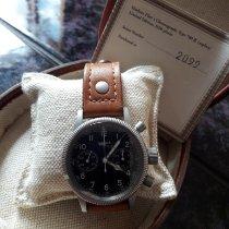 Hanhart Stahl 40mm Handaufzug Hanhart Fliegerchronograph  Limitierte Auflage 700 ff gebraucht