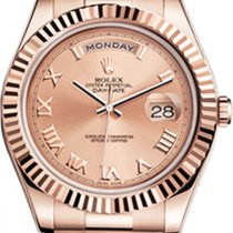 Rolex 218235 Or rose Day-Date II 41mm occasion