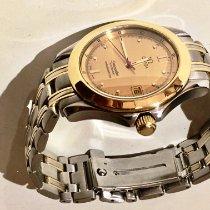 Omega Seamaster gebraucht 36mm Gold Datum Gold/Stahl