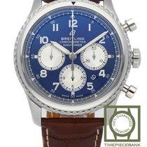 Breitling Navitimer 8 Steel 43mm Blue Arabic numerals
