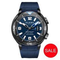 Clerc Hydroscaph H1 Chronometer Steel Blue Arabic numerals