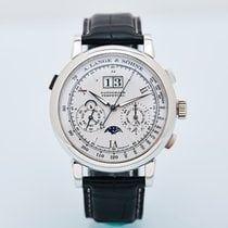 A. Lange & Söhne 朗格 410.025 Platinum Datograph 41mm pre-owned
